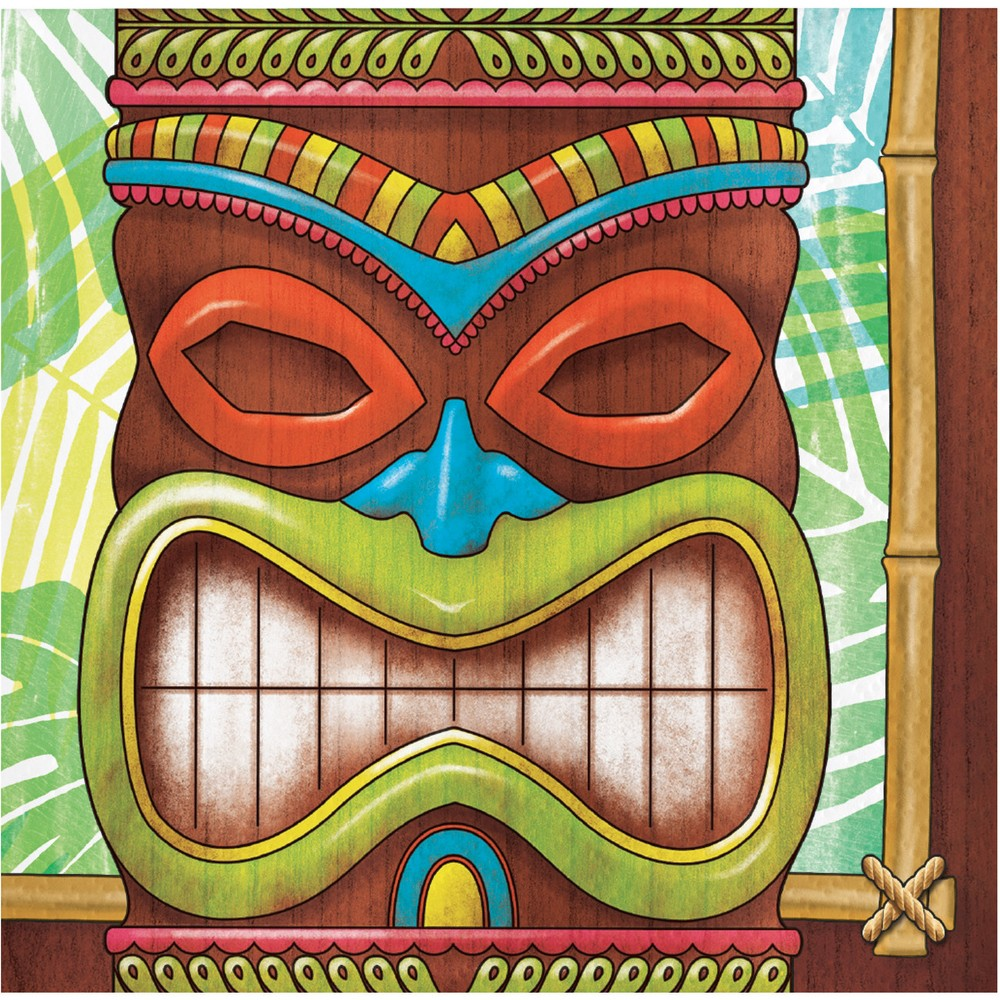 Image of 16ct Tiki Time Beverage Napkins