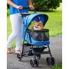 "Pet Gear Happy Trails No-Zip Dogs Stroller - 30.5""L x 15""W - image 4 of 4"