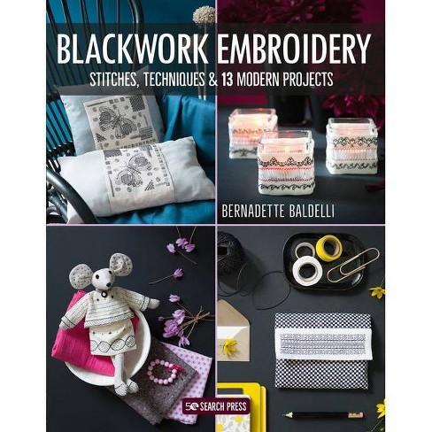 Blackwork Embroidery - by  Bernadette Baldelli (Paperback) - image 1 of 1