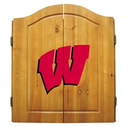 NCAA Imperial Bristle Dart Board and Cabinet