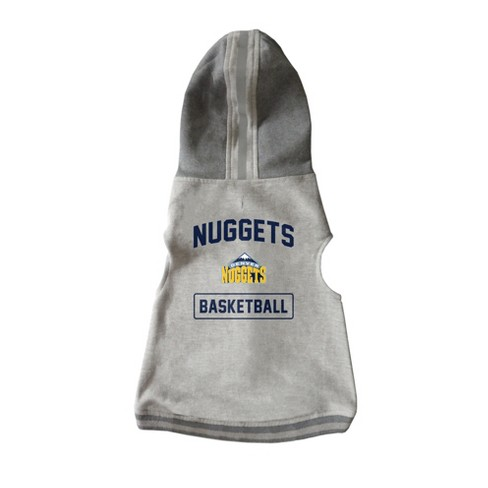 NBA Denver Nuggets Pet Hooded Crewneck Sweater M - image 1 of 4