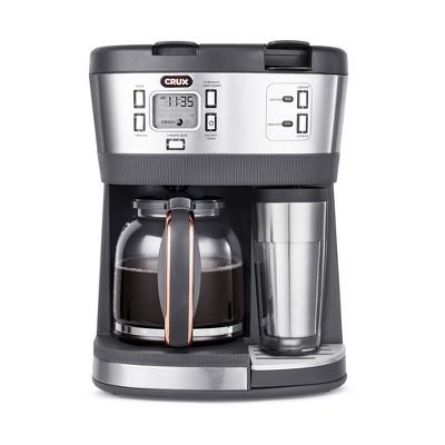 CRUX Trio  12-Cup Coffee Maker - Gray