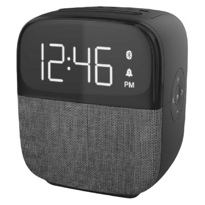 CR60 Tune Clock Radio with Bluetooth Speaker - Black - Capello