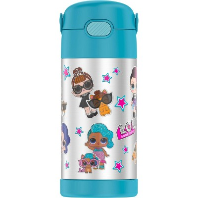 Thermos L.O.L. Surprise! Remix 12oz FUNtainer Water Bottle with Bail Handle - Blue