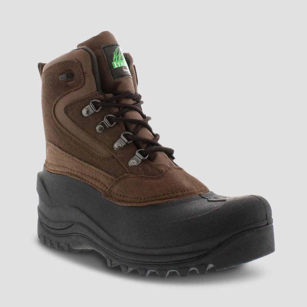 Winter Boots Itasca Lutsen Brown 9, Men's