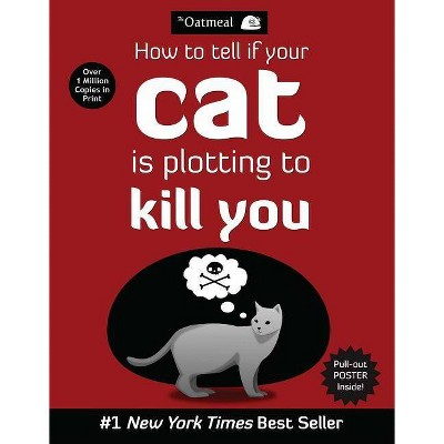 How to Tell If Your Cat Is Plotting to Kill You (Mixed media product) by Oatmeal