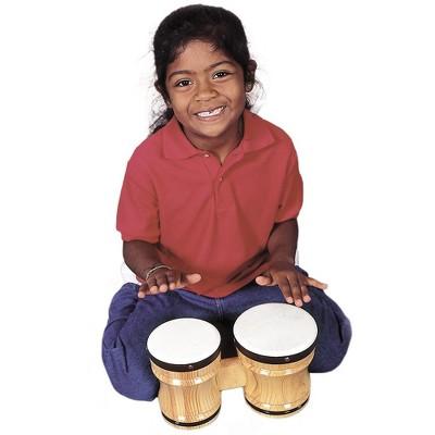 Rhythm Band Kiln-dried Hardwood Bongo Drums