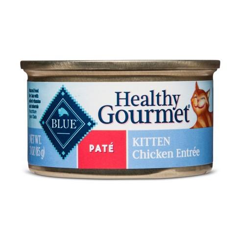 Blue Buffalo Healthy Gourmet Kitten Pate Chicken Entree Wet Cat Food
