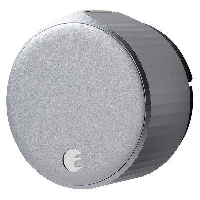 August AUG-SL05-M01-S01 Wi-Fi (4th Gen) Smart Lock - Fits Your Existing Deadbolt in Minutes, Silver