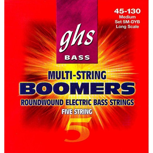 GHS 5-5M-DYB 5-string Bass Strings with Low-B - image 1 of 1