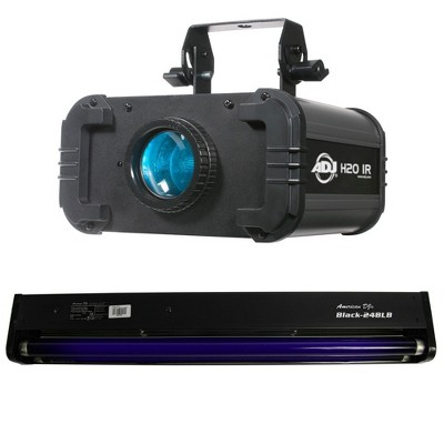 American DJ H2O IR LED Water Flowing 5 Colors Light Effect and 24 In Black Light
