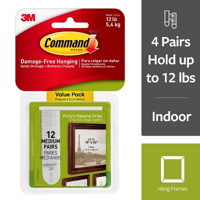 Command Picture Strips Med 12pk