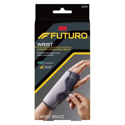 FUTURO Comfort Stabilizing Wrist Brace, Adjustable