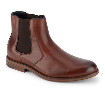 Dockers Mens Ashford Leather Dress Chelsea Boot