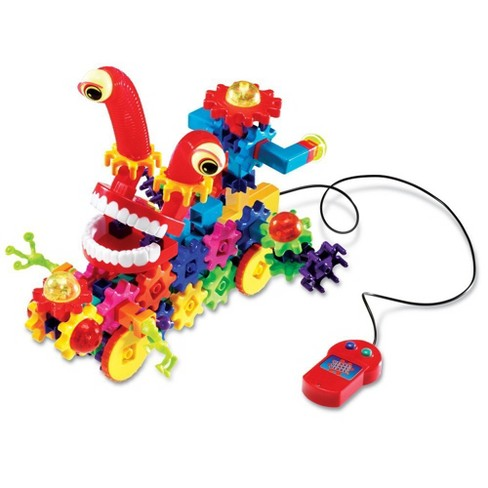 Learning Resources Gears! Gears! Gears! Motorized Wacky Wigglers Gears Building Set, 130 Pieces - image 1 of 4