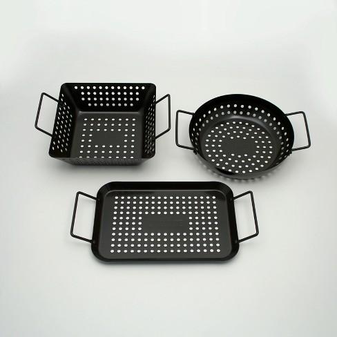 Ignite 3pc Non Stick Grill Topper Set