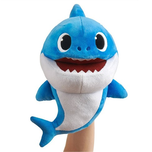 WowWee Shark Family Plush Puppet - Daddy Shark - image 1 of 4