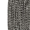6'X9' Fleck Braided Oval Area Rug Black - Colonial Mills - image 2 of 3