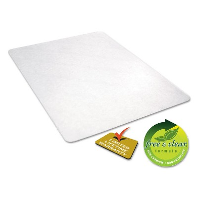 3'x4' Rectangle Solid Office Chair Mat Clear - Alera : Target