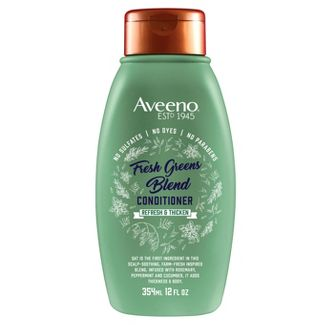 Aveeno Scalp Soothing Fresh Greens Blend Conditioner - 12 fl oz