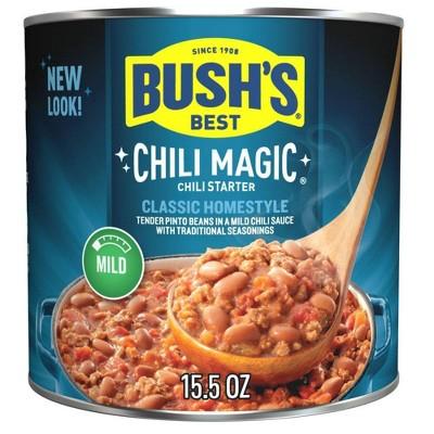 Bush's Chili Magic Mild - 15.5oz