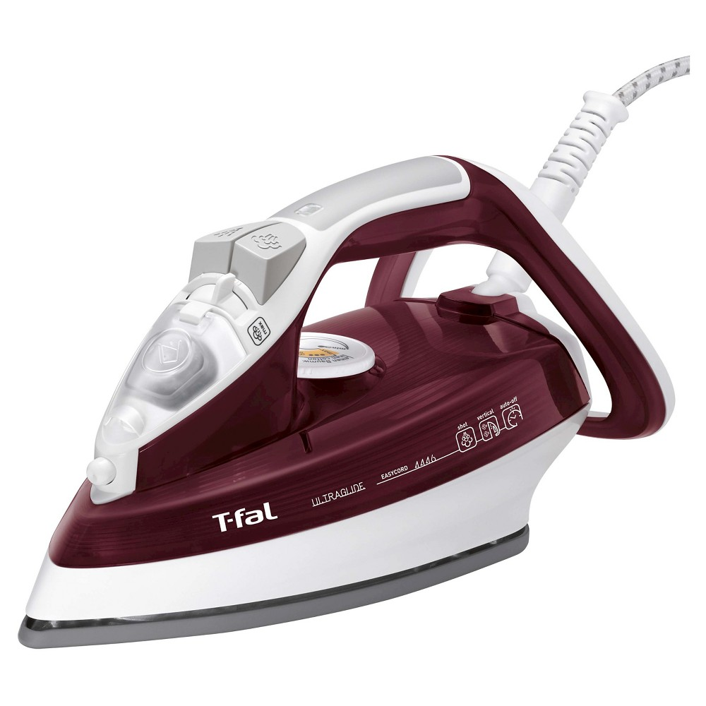 T-Fal Ultraglide Easycord Iron - Red