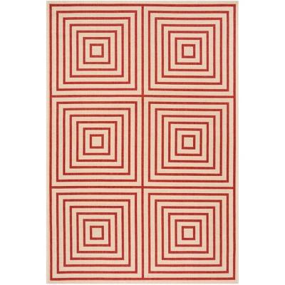 Iva Geometric Loomed Rug Safavieh Target