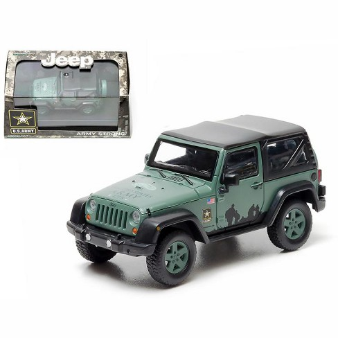 2012 Jeep Wrangler U S Army Hard Top Dark Green With Display