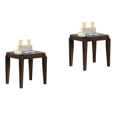 Docila End Table Walnut - Acme Furniture