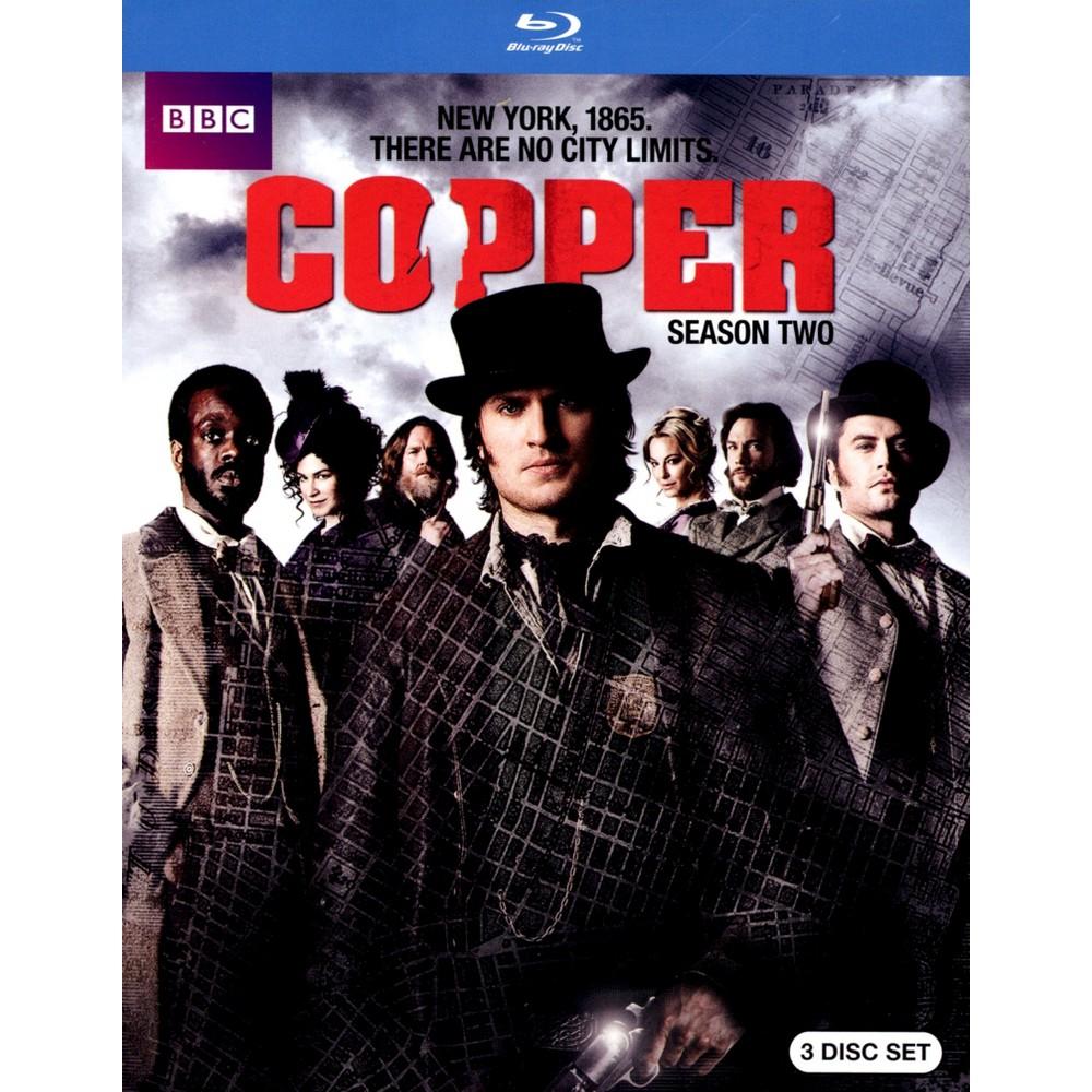 Copper:Season Two (Blu-ray)