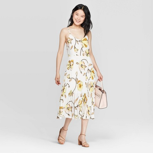 Image result for Women's Floral Print Sleeveless V-Neck Maxi Dress- A New Day