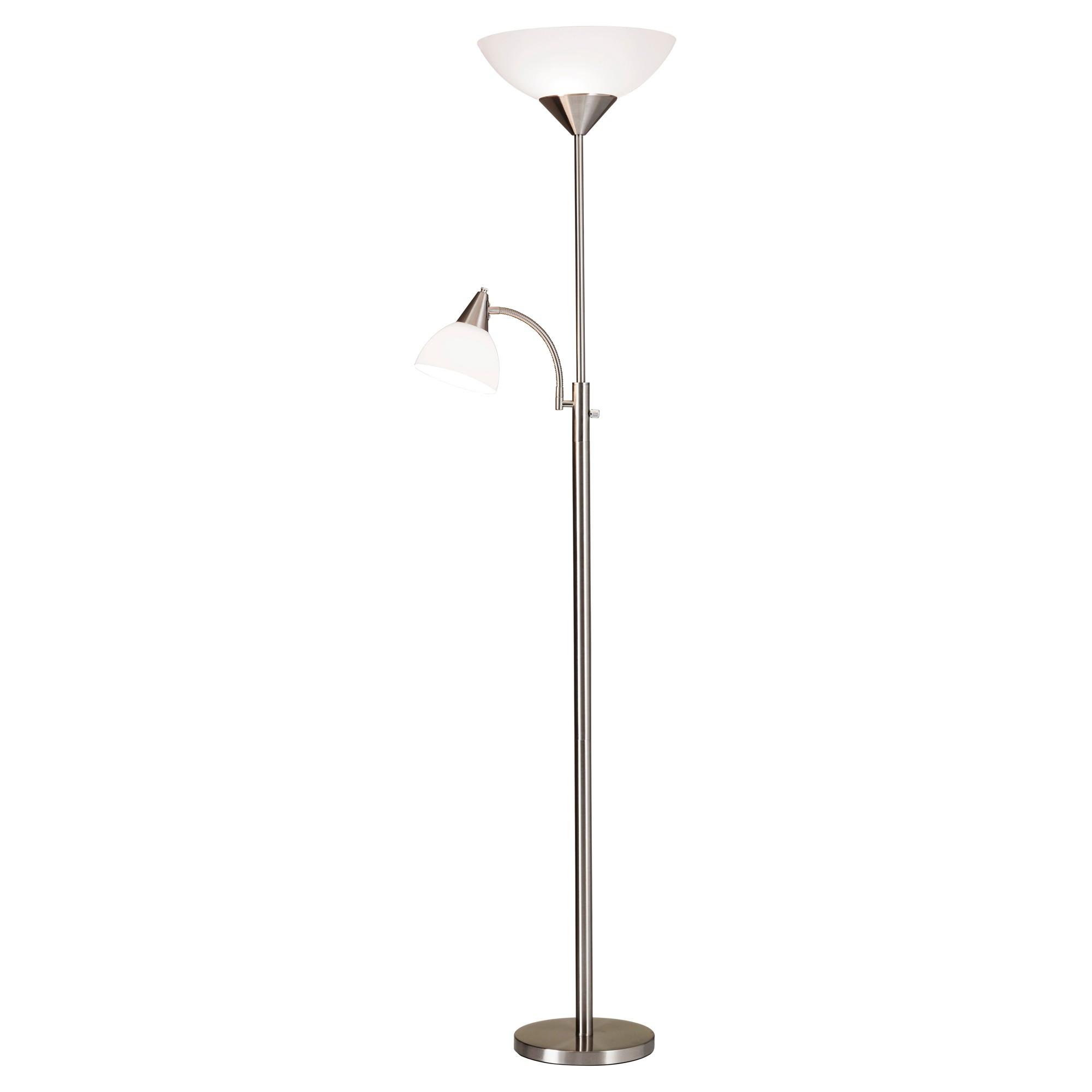Piedmont Combo Floor Lamp - Steel (Lamp Only)