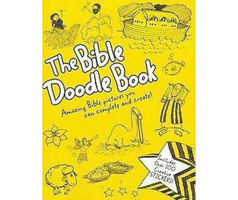 Bible Doodle Book : Amazing Bible Pictures You Can Complete and Create! (Paperback) (Amy Parker) - image 1 of 1