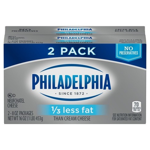 Philadelphia Neufchatel Cheese - 16oz - image 1 of 1