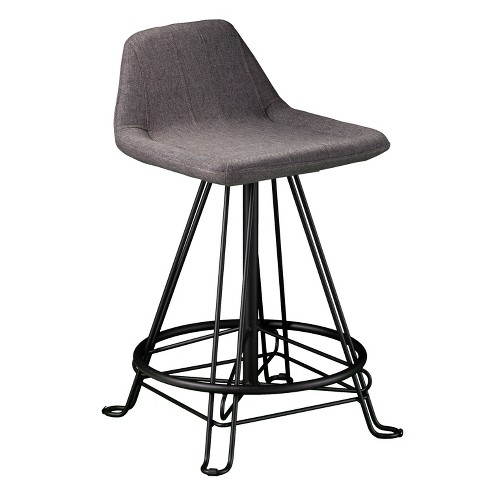 Tremendous Musette Retro Counter Stool Gray Aiden Lane Pdpeps Interior Chair Design Pdpepsorg