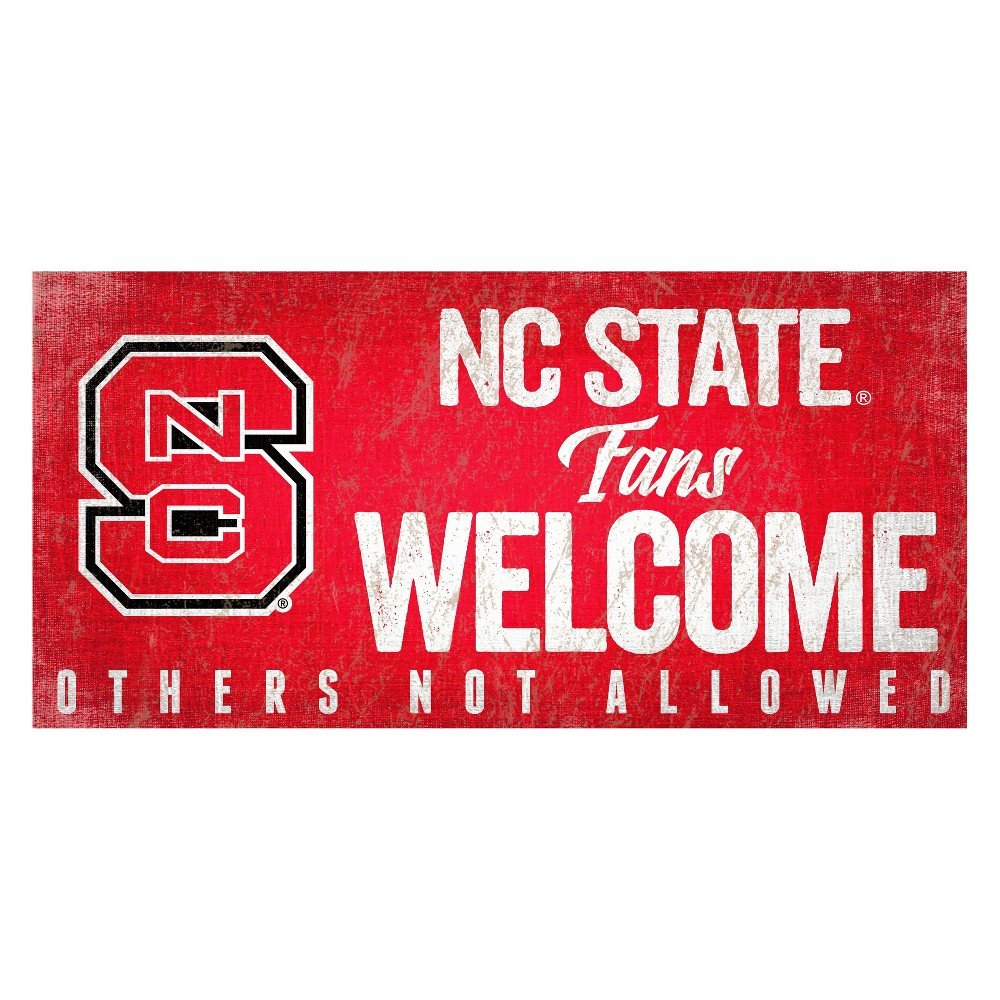 NC State Wolfpack Welcome Sign
