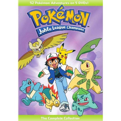 Pokemon: Johto League Champions The Complete Collection (DVD)(2016)