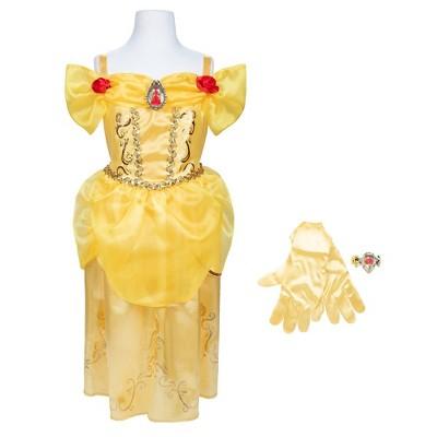 Disney Princess Belle Majestic Dress with Bracelet and Gloves