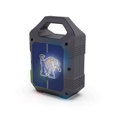 NCAA Memphis Tigers Bluetooth Speaker with LED Lights