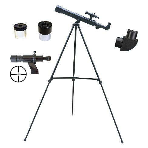 Galileo 500mm x 45mm Children's Astronomical and Terrestrial/Land Telescope Kit - Black - image 1 of 2