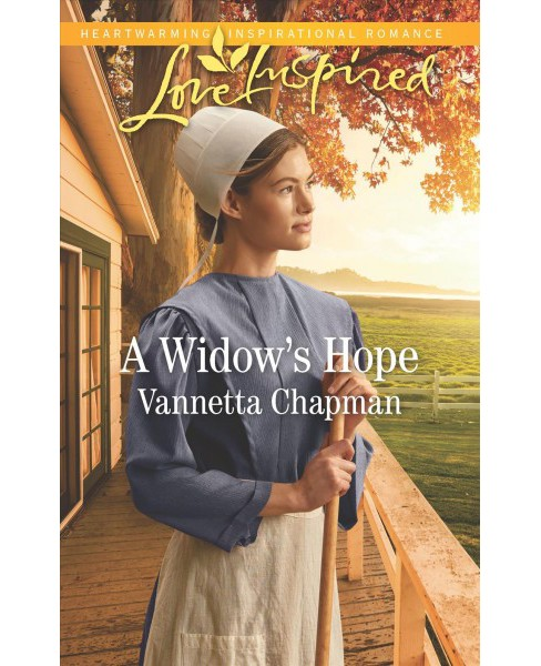 Widow's Hope -  (Love Inspired) by Vannetta Chapman (Paperback) - image 1 of 1