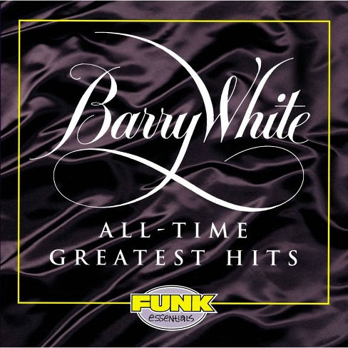 Barry white - All time greatest hits (CD) - image 1 of 1