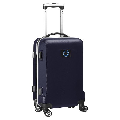 NFL Indianapolis Colts Mojo Hardcase Spinner Carry On Suitcase  - Navy