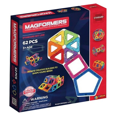 Magformers® Magnetic Power Magic Rainbow Set - 62pc - image 1 of 10