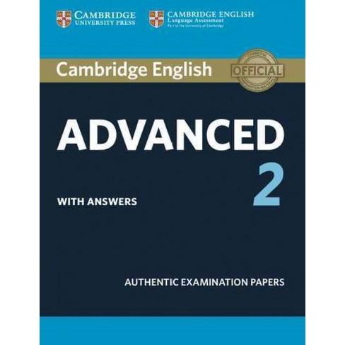 cambridge english advanced  Cambridge English Advanced 2 With Answers : Authentic Examination ...
