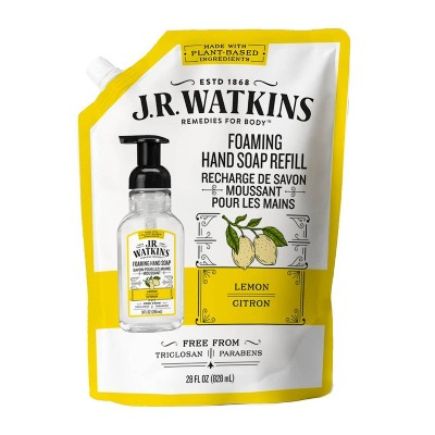 JR Watkins Lemon Foaming Hand Soap Refill - 28 fl oz