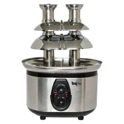 Koolatron Total Chef Double Chocolate Fondue Fountain - WTF43E