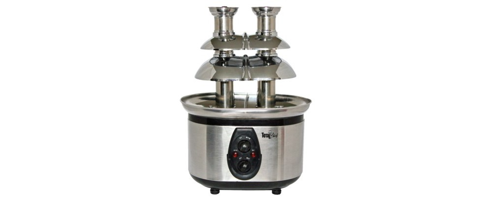 Image of Koolatron Total Chef Double Chocolate Fondue Fountain - WTF43E