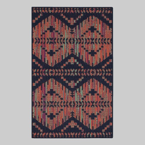 Color Mix Stripe Outdoor Rug Opalhouse Target