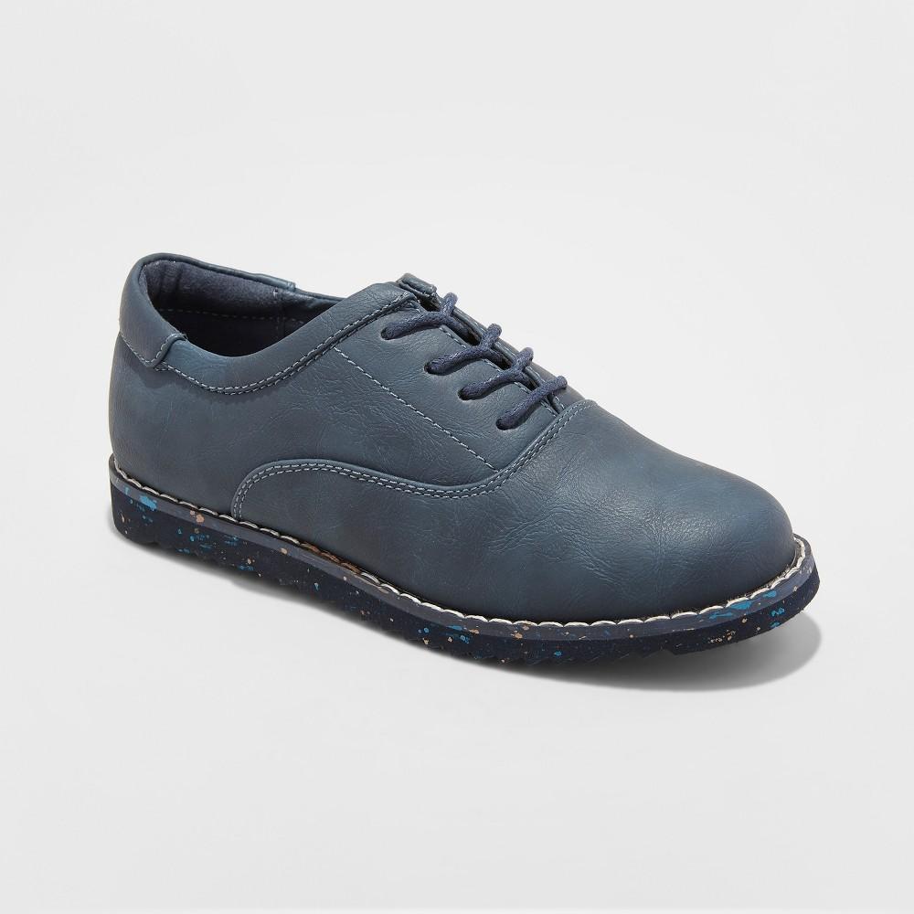Boys' Glen Dress Shoes - Cat & Jack Navy (Blue) 2